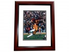 "Charles White Signed - Autographed USC Trojans 8x10 inch Photo MAHOGANY CUSTOM FRAME - Guaranteed to pass PSA or JSA with ""79 Heisman"" Trophy Winner inscription"