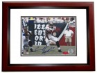 Carnell CADILLAC Williams Autographed Tampa Bay Bucs 8x10 Photo MAHOGANY CUSTOM FRAME