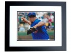 Carlos Zambrano Signed - Autographed Chicago Cubs 8x10 inch Photo BLACK CUSTOM FRAME - Guaranteed to pass PSA or JSA