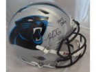 Carolina Panthers Autographed Helmets
