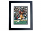 Charles White Signed - Autographed USC 8x10 Photo BLACK CUSTOM FRAME - 1979 Heisman Trophy Winner