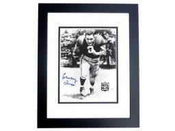 Charley Trippi Signed - Autographed Chicago Cardinals 8x10 inch Photo BLACK CUSTOM FRAME - Guaranteed to pass PSA or JSA - Hall of Famer