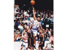 Charlie Ward Autographed New York Knicks 8x10 Photo