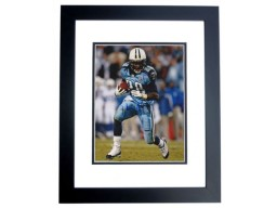 Chris Johnson Signed - Autographed Tennessee Titans 8x10 inch Photo BLACK CUSTOM FRAME - Guaranteed to pass PSA or JSA