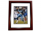 Chris Johnson Signed - Autographed Tennessee Titans 8x10 inch Photo MAHOGANY CUSTOM FRAME - Guaranteed to pass PSA or JSA