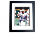 Chris Sanders Signed - Autographed Houston Oilers, Titans 8x10 inch Photo BLACK CUSTOM FRAME - Guaranteed to pass PSA or JSA