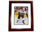 Chris Simon Signed - Autographed Washington Capitals 8x10 inch Photo MAHOGANY CUSTOM FRAME - Guaranteed to pass PSA or JSA