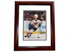 Claude Lemieux Signed - Autographed New Jersey Devils 8x10 inch Photo MAHOGANY CUSTOM FRAME - Guaranteed to pass PSA or JSA