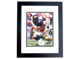 Clinton Portis Signed - Autographed Denver Broncos 8x10 inch Photo BLACK CUSTOM FRAME - Guaranteed to pass PSA or JSA