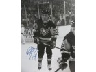 Paul Coffey (Pittsburgh Penguins) Signed B&W 16x20 Photo