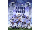 Indianapolis Colts (2005) Signed 8x10 By the 2005 Indianapolis Colts: Reggie Wayne, Jeff Saturday, Mike Vandejagt, Marvin Harrison, Dallas Clark, Mike Doss, Dwight Freeney, Edgerrin James, Peyton Manning, Dominic Rhodes and Brandon Stokley. (11 signatures