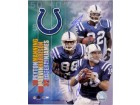 Indianapolis Colts Signed 8x10 By Peyton Manning Marvin Harrison and Edgerrin James