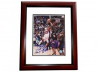 Corey Maggette Signed - Autographed Los Angeles Clippers 8x10 inch Photo MAHOGANY CUSTOM FRAME - Guaranteed to pass PSA or JSA