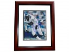 Corey Simon Signed - Autographed Philadelphia Eagles 8x10 inch Photo MAHOGANY CUSTOM FRAME - Guaranteed to pass PSA or JSA