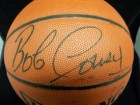 Bob Cousy Signed Spalding Indoor / Outdoor Basketball