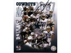 Dallas Cowboys (2007) Signed 8x10 By the 2007 Dallas Cowboys: Tony Romo, Marion Barber, Roy Williams, Sam Hurd, Nick Folk, Jason Witten, Terence Newman, Terrell Owens, Julius Jones and Demarcus Ware. (10 Signatures in all)