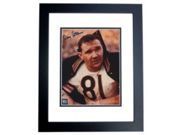 Doug Atkins Signed - Autographed Chicago Bears 8x10 inch Photo BLACK CUSTOM FRAME - Guaranteed to pass PSA or JSA - Hall of Famer