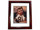 Doug Atkins Signed - Autographed Chicago Bears 8x10 inch Photo MAHOGANY CUSTOM FRAME - Guaranteed to pass PSA or JSA - Hall of Famer