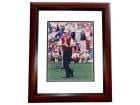 Deane Beman Signed - Autographed Golf 8x10 inch Photo MAHOGANY CUSTOM FRAME - Guaranteed to pass PSA or JSA