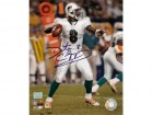 Daunte Culpepper Signed - Autographed Miami Dolphins 8x10 Action Photo (white jersey) - Guaranteed to pass PSA or JSA