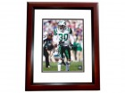 Drew Coleman Signed - Autographed New York Jets 8x10 inch Photo MAHOGANY CUSTOM FRAME - Guaranteed to pass PSA or JSA