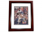 David Cone Signed - Autographed Beckett Magazine Back Cover MAHOGANY CUSTOM FRAME