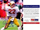 Doug Flutie Signed - Autographed Boston College Eagles 8x10 inch Photo - 1984 Heisman Trophy Inscription - PSA/DNA Certificate of Authenticity (COA)