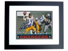 Dan Fouts Signed - Autographed San Diego Chargers 4x6 Photo BLACK CUSTOM FRAME - Guaranteed to pass PSA or JSA