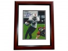 Devin Hester Signed - Autographed Miami Hurricanes 8x10 Photo MAHOGANY CUSTOM FRAME