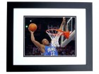 Dwight Howard Unsigned Orlando Magic 8x10 inch Photo BLACK CUSTOM FRAME