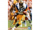 Eric Dickerson Signed Los Angeles Rams Action 8x10 Photo w/HOF'99