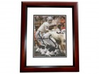 Daryle Lamonica Signed - Autographed Oakland / Los Angeles Raiders 8x10 inch Photo MAHOGANY CUSTOM FRAME - Guaranteed to pass PSA or JSA