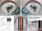 Dan Marino and Mark Clayton Signed - Autographed Miami Dolphins Authentic Full Size Riddell Proline Helmet - FULL JSA Letter of Authenticity