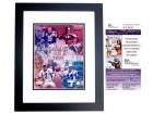 Dan Marino Signed - Autographed Miami Dolphins 8x10 inch Photo BLACK CUSTOM FRAME - JSA Certificate of Authenticity