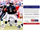 Donovan McNabb Signed - Autographed Philadelphia Eagles 8x10 inch Photo - PSA/DNA Certificate of Authenticity (COA)