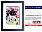Donovan McNabb Signed - Autographed Philadelphia Eagles 8x10 inch Photo BLACK CUSTOM FRAME - PSA/DNA Certificate of Authenticity (COA)