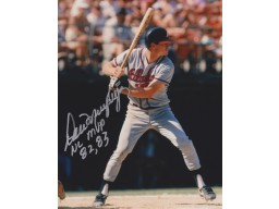 Dale Murphy Signed - Autographed Atlanta Braves 8x10 inch Photo - Guaranteed to pass PSA or JSA with Inscription