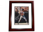 Dale Murphy Signed - Autographed Atlanta Braves 8x10 inch Photo with Inscription MAHOGANY CUSTOM FRAME - Guaranteed to pass PSA or JSA