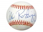 Alex Rodriguez Autographed AL Baseball Seattle Mariners Rookie Era Signature PSA/DNA #T98009