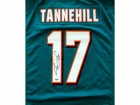 Ryan Tannehill Autographed Teal Miami Dolphins Nike Jersey Size XL PSA/DNA Stock #46532
