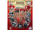 SF 49ers Hall of Famers (12 Signatures) Autographed 20x24 Photo Joe Montana, Jerry Rice, Steve Young, Lott & Tittle HOF PSA/DNA #S06436