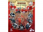 SF 49ers Hall of Famers (12 Signatures) Autographed 20x24 Photo Joe Montana, Jerry Rice, Steve Young, Lott & Tittle HOF PSA/DNA #S06435
