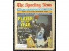 "Michael Jordan Autographed Sporting News Magazine North Carolina ""Best Wishes"" PSA/DNA #H47550"