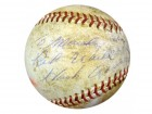 "Hank Aaron Autographed NL Giles Baseball ""To Marsha, Best Wishes"" PSA/DNA #S75200"