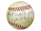 "Burleigh Grimes Autographed NL Baseball Dodgers, Cardinals ""To John, Best Wishes"" PSA/DNA #S75256"