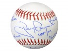 Tony Gwynn Autographed Official MLB Baseball San Diego Padres Statball With 6 Stats PSA/DNA Stock #22496