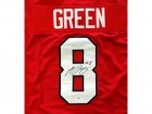 A.J. Green Autographed Red Georgia Bulldogs Jersey PSA/DNA Stock #59079