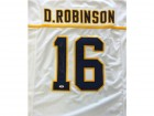 Denard Robinson Autographed White Michigan Wolverines Jersey PSA/DNA Stock #59077