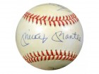 Mickey Mantle, Willie Mays & Duke Snider Autographed NL Baseball New York Yankees PSA/DNA #S14861
