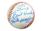 "Joe DiMaggio Autographed AL Baseball New York Yankees ""To Dick"" PSA/DNA #S06854"